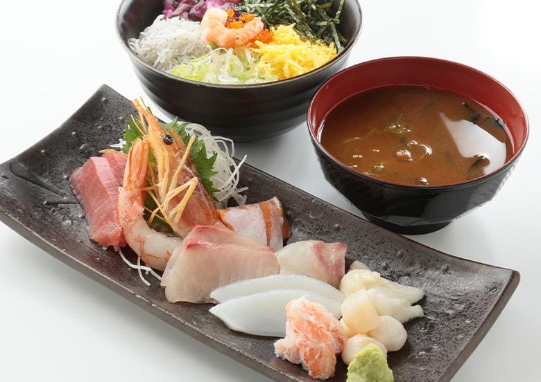 海鮮盛り定食